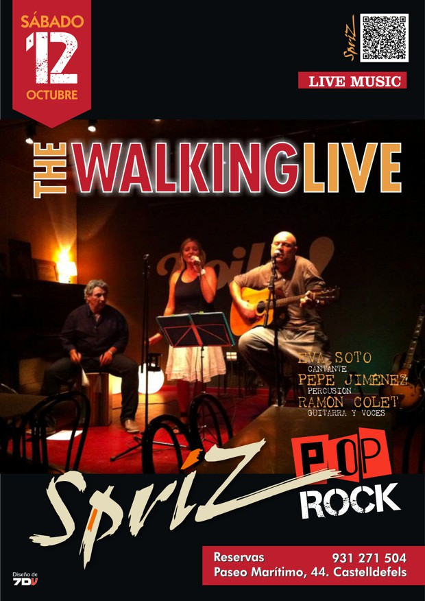 0131012 The Walking Live