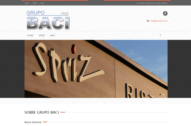 Grupo Baci web